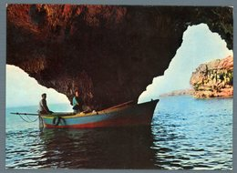 °°° Cartolina - Marina Di Leuca Le Grotte Viaggiata °°° - Lecce