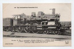 - CPA LES LOCOMOTIVES FRANCAISES (Est) - Machine N° 3819, à Surchauffeur Schmidt, Pour Trains Express Lourds... - Trains