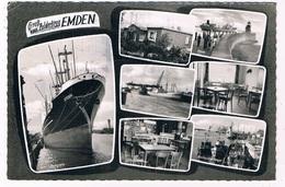D-10744  EMDEN : Gruss Vom Polderkrug Emden - Emden
