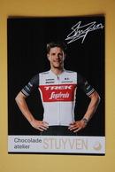CYCLISME: CYCLISTE : JASPER STUYVEN - Cyclisme