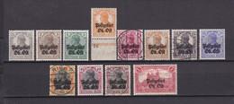 Postgebiet Oberbefehlshaber Ost - 1916/18 - Michel Nr. 1/12 - Postfrisch/Gest./Ungebr. - Besetzungen 1914-18