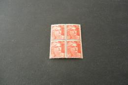 FR827-bloc De 4 MNH  France  1945 - SC. 537 -YV. 714 - Marianne 2,40FR. - 1945-54 Marianne De Gandon