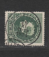 COB 290A Oblitération Centrale BRUXELLES 5 - 1929-1941 Grand Montenez