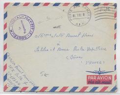 GUERRE D'ALGERIE - ENVELOPPE FM Par AVION Du SP 87.444 - Guerra De Argelia