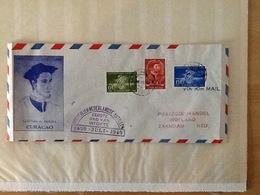 Curaçao FDC 1949 26.VII.49. - Curacao, Netherlands Antilles, Aruba