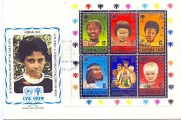 FDC GIBRALTAR INTERNATIONAL YEAR OF THE CHILD (FEB201425) - ACF - Aktion Gegen Den Hunger