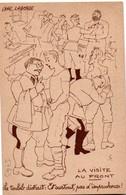 CPFM ABC 1940 - La Visite Au Front - Médecine Militaire - Marcophilie (Lettres)