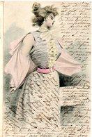 CPA  - Femme Majestueuse   -  écrite - - Donne