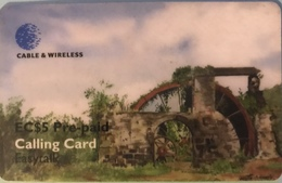 St. VINCENT § LES GRENADINES  -  Prepaid -  Cable %  Wireless  -  EC$5 - St. Vincent & The Grenadines