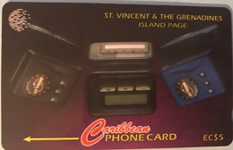 St. VINCENT § LES GRENADINES  -  Phonecard -  Cable %  Wireless  -  EC$5 - St. Vincent & The Grenadines