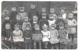 Carte Photo école Des Soeurs De L'Immaculée Conception Charleroi 1920 - Charleroi