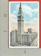 CARTOLINA VG STATI UNITI - NEW YORK - Metropolitan Life Insurance BLDG. - 9 X 14 - 1929 - New York City