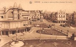 Ostende - Le Kursaal Du Côté De La Ville Et Boulevard Van Iseghem - Oostende