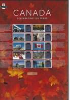 Gran Bretagna, 2017 CS36 150° Ann. Del Canada, Colonia Britannica, Smiler, Con Custodia, Perfetto - Personalisierte Briefmarken