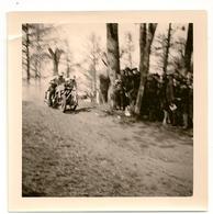 PHOTO -  Moto-Cross Namur Citadelle + Ou - 1950. Roskvis (Suède) Lito Side-car. - Sports