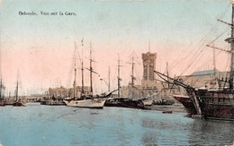 Ostende - Vue Sur La Gare - Oostende