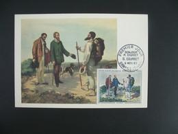 Carte Maximum 1962 N° 1363 - 1960-69