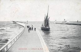 Ostende - L'entrée Du Port - Oostende