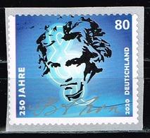 Bund 2020,Michel# 3520 ** 250. Geburtstag Von Ludwig Van Beethoven, Selbstklebend Aus 100er Rolle - Unused Stamps