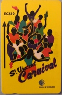 St. VINCENT § LES GRENADINES  -  Phonecard -  Cable %  Wireless  -  EC$10 - St. Vincent & The Grenadines