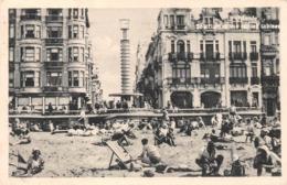 Ostende - Solarium Et Vue Sur Les Cabines En 1938 - Oostende
