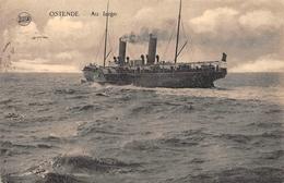 Ostende - Au Large En 1920 - Oostende
