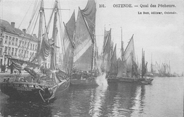 Ostende - Quai Des Pêcheurs - Oostende