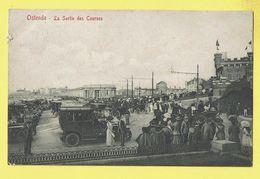 * Oostende - Ostende (Kust - Littoral) * (Edit V.G., Nr 8) La Sortie Des Courses, Oldtimer Car Voiture, Animée, Digue - Oostende