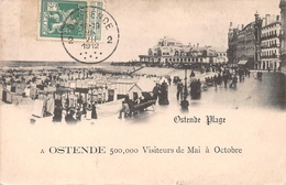 Ostende - Plage En 1912 - Oostende