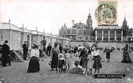 Ostende - Vue Sur La Plage En 1910 - Oostende