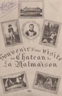 SOUVENIR D UNE VISITE AU CHATEAU DE MALMAISON - Francia