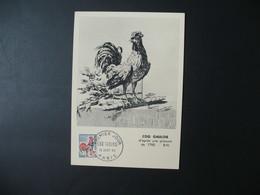 Carte-Maximum 1965  N° 1331A - Maximum Cards