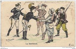 FRANCE MILITARIA ..-- Humoristique .  Texte Militaire Français ( Robert PIERRON ) . - Umoristiche