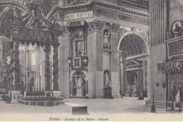 (564) AK Rom, Vatikan, Petersdom, Inneres, Vor 1945 - Vatikanstadt