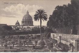 (566) AK Rom, Vatikan, Garten, Petersdom 1929 - Vatikanstadt