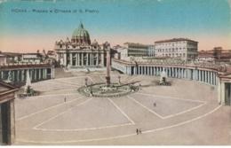 (644) AK Rom, Vatikan, Petersplatz, Petersdom, Vor 1945 - Vatikanstadt