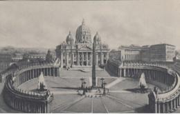 (686) AK Rom, Vatikan, Petersplatz, Petersdom 1944 - Vatikanstadt