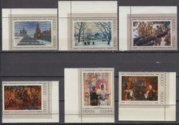 Russia, USSR 22.06.1974 Mi # 4384-89, Paintings Of The Soviet Artists MNH OG - Nuevos