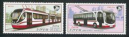 NORTH KOREA 2020 VEHICLES STAMP SET - Tranvías