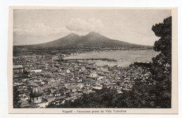 CPA  ITALIE . NAPOLI . PANORAMA PRESO DA VIA TOLENTINO - Napoli (Naples)