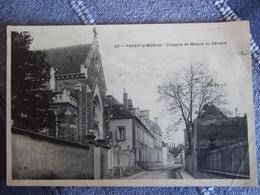 PARAY LE MONIAL / CHAPELLE ET MAISON DU CENACLE / JOLIE CARTE / L.D - Paray Le Monial
