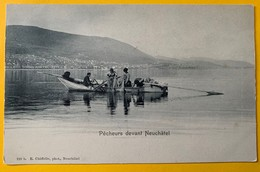 9982 - Pêcheurs Devant Neuchâtel - NE Neuchatel