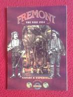 SPAIN POSTAL POST CARD PUBLICIDAD FREMONT DENIM COLECCIÓN 1992 THE NILE 1934 CLOTHE ROPA CLOTHING VÊTEMENTS...ESPAGNE... - Publicidad
