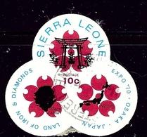 Sierra Leone 390 CTO 1970 Issue - Sierra Leone (1961-...)