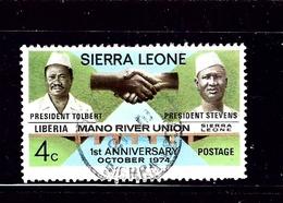 Sierra Leone 438 Used 1975 Issue - Sierra Leone (1961-...)