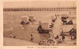Ostende - Les Cabines Et Les Bains - Oostende