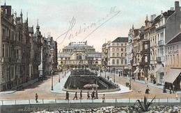 Ostende - Avenue Leopold 1er (Bières Palkenbrau) - 1908 - Oostende