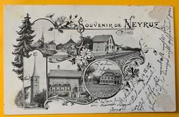 9989 - Souvenir De Neyruz état Moyen Voir Scans - FR Fribourg