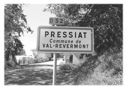PRESSIAT - Panneau Entrée - Autres Communes