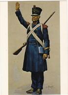 SERGENT  Artillerie De MARINE 1813 (signée De ROUSSELOT  1830 ) N° 8 - Militaria